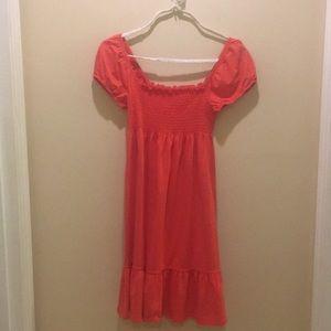 Loft medium off the shoulder dress